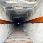 Sestupná cesta v Červené pyramidě