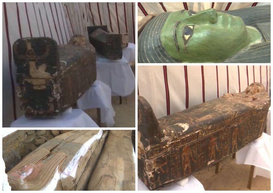 3000 let staré malované rakve v Sakkáře