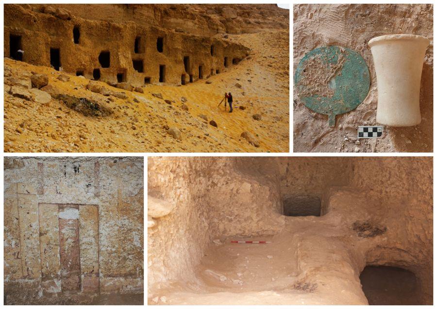 Al-Hamidiyah - dosud neznámá nekropole na jihovýchodě Egypta