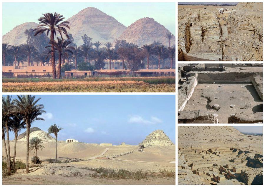 Abúsír se stal nekropolí 5. dynastie