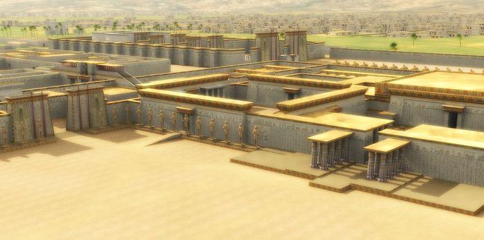 Achetaton - hlavní město Amenhotepa IV.