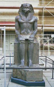 Amenemhet II. - faraonova socha v Berlínském muzeu