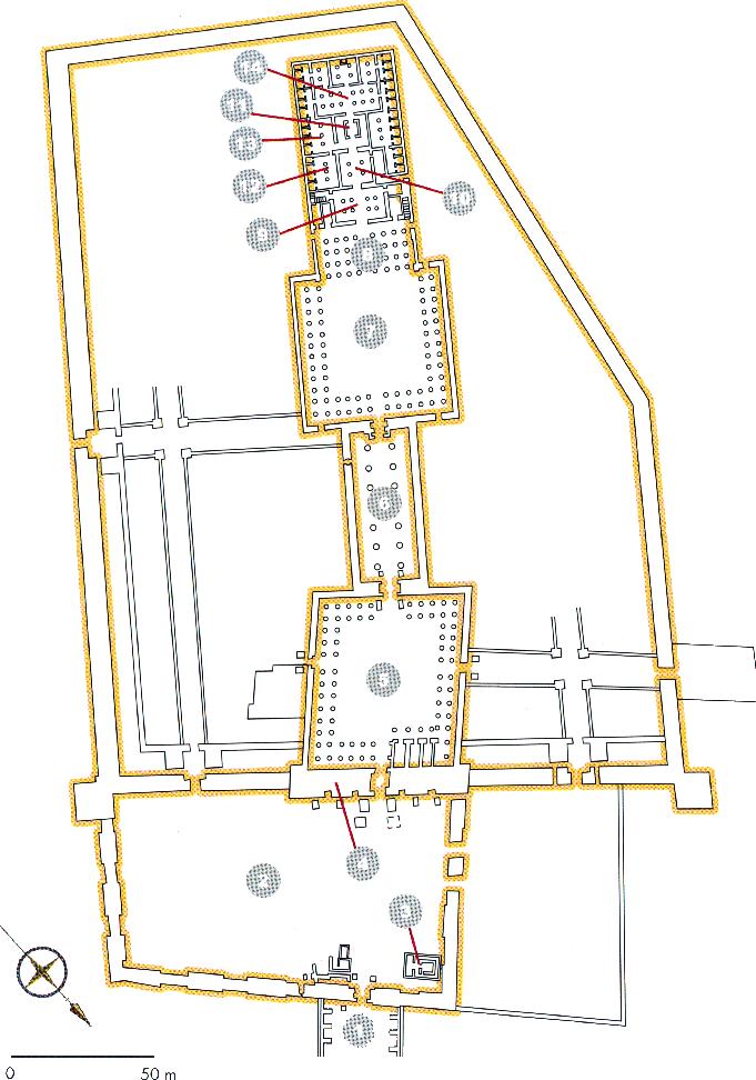 Chrámový komplex v Luxoru