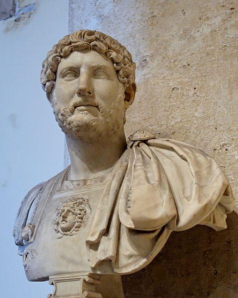 Busta císaře Hadriána