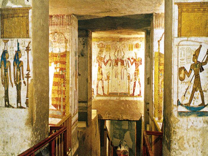 Hrobka KV15 Sethi II.