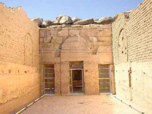 Nádvoří chrámu Bét el-Wálí