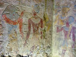 Ramesse II. pobíjí nepřátele Egypta