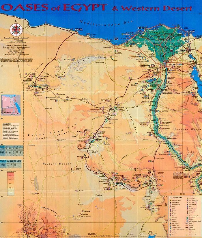 Západní poušť - jeskyně plavců