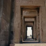 Z chrámu jsou krásné výhledy na Nil