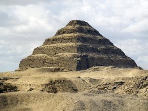 Džoserova pyramida, detail pyramidy