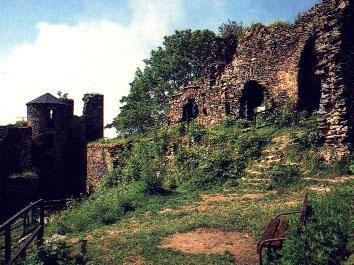 Bohuslav Hasištejnský - hrad Hasištejn