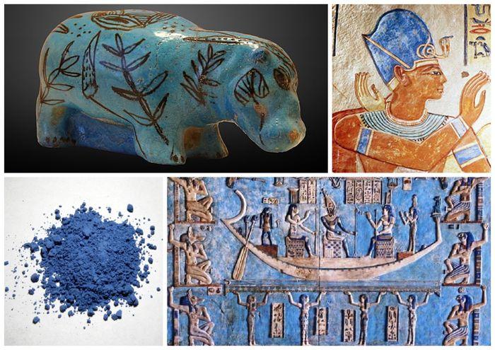 Egyptská modř