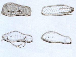 Egyptské sandály