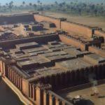 Rekonstrukce pevnosti Buhen - největší z potopených v Násirově jezeře