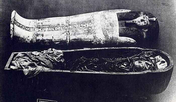 Mumie Amenhotepa I.