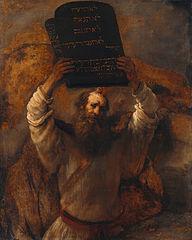 Mojžíš a Desatero příkázání
