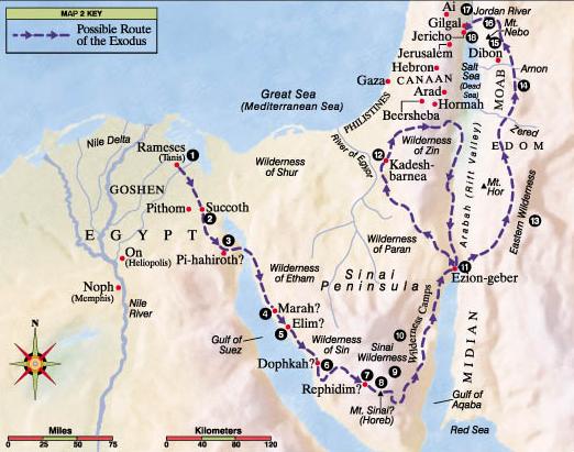 Odchod Židů z Egypta