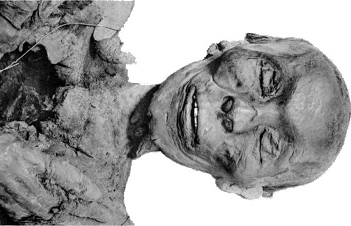 Mumie faraona Thutmose II.