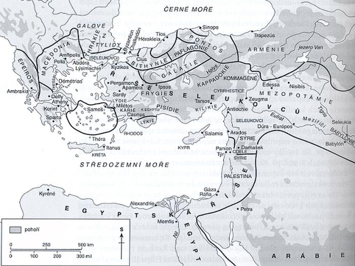 Středomoří v době Ptolemaiovců