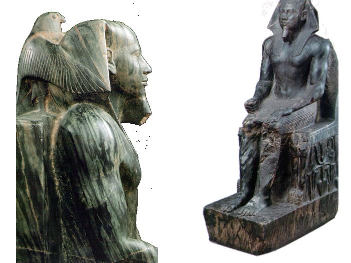 Sochy faraona Rachefa