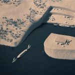 Naložené lodě se pak vydávaly po proudu do Karnaku, Luxoru nebo Dendery