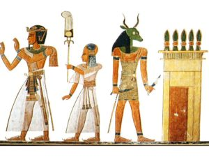 Ramesse III., Chaemuaset a strážce s noži
