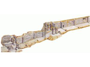 Kresba severní stěny hrobky