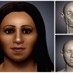 Pravděpodobná podoba dívky z hrobky