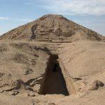 Pyramida K1 nacházející se na pohřebišti El Kurru