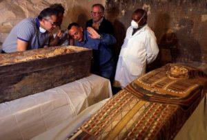 Hrobka v Luxoru ukrývala neporušený sarkofág ženy starý 3000 let Foto: Reuters