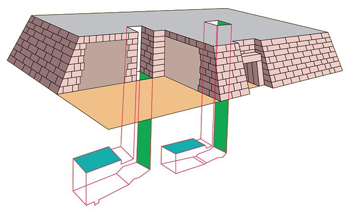 Mastaba - struktura mastaby