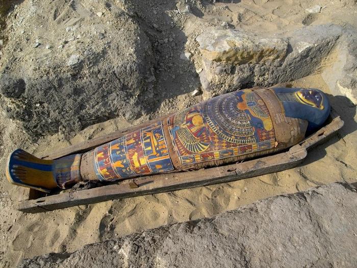 Tato mumie ze Sakkáry patřila zemřelému ze střední třídy. Autor: Getty Image