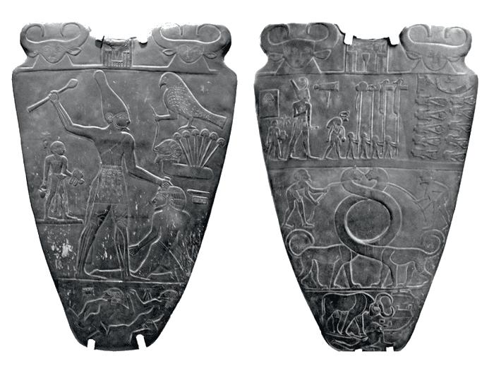 Nakádská kultúra - Narmerova paleta