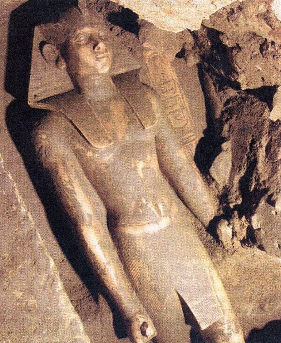 Socha faraona Neferhotepa