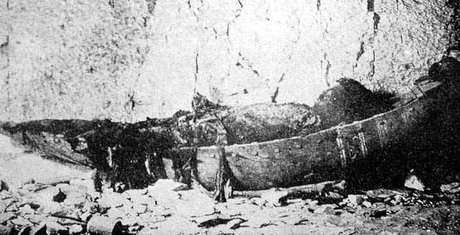 Sethnacht - torzo mumie z roku 1898