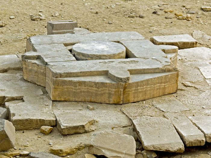 Niuserreův sluneční chrám - obětní oltář