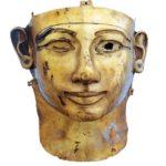 Pohřební maska Šešonka II. (zlato; výška 26 cm; šířka 23 cm)