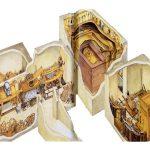 Plánek hrobky KV62