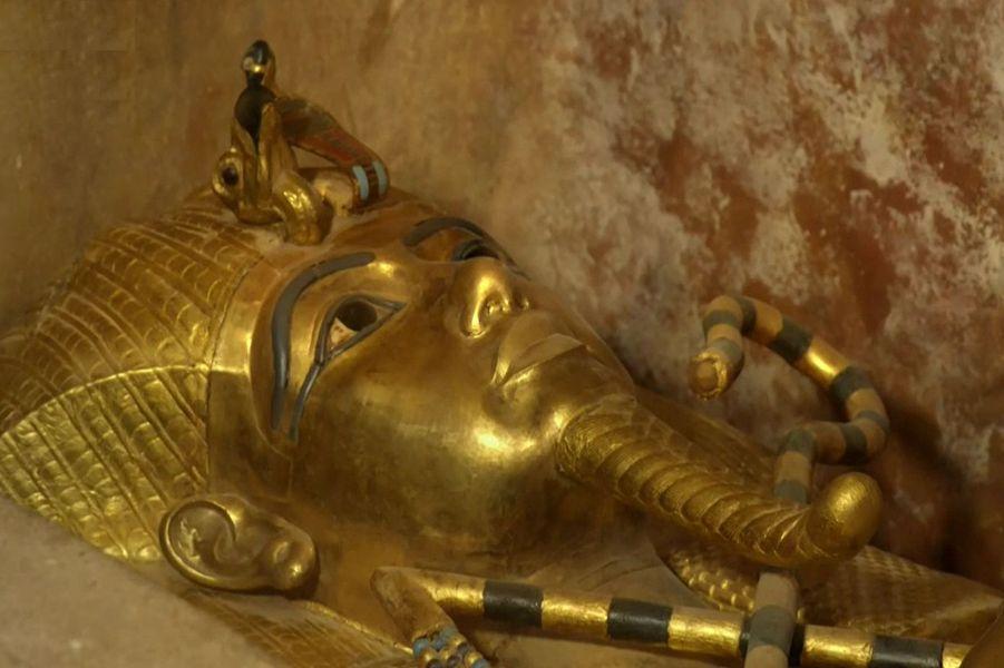 Tutanchamonova zlatá maska