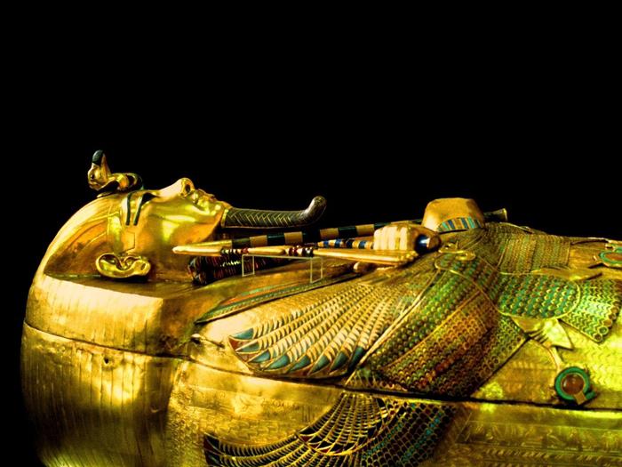Tutanchamonova zlatá rakev