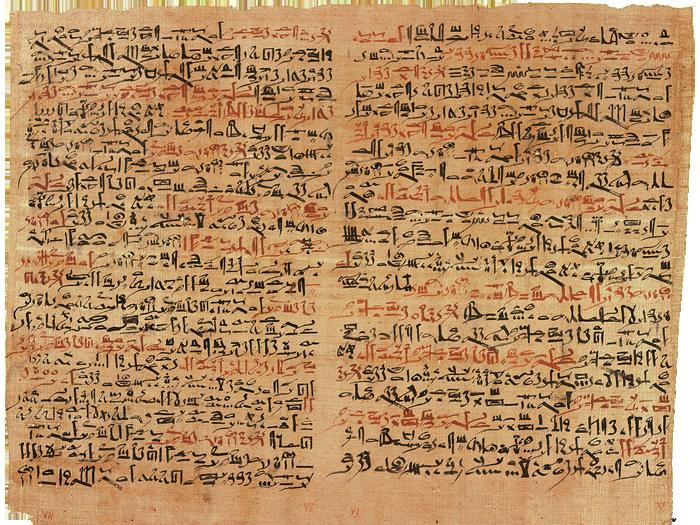 Zubařství ve starověkém Egyptě popisuje papyrus Edwina Smithe