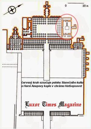 Komplex Slunečního kultu v chrámu Hatšepsut