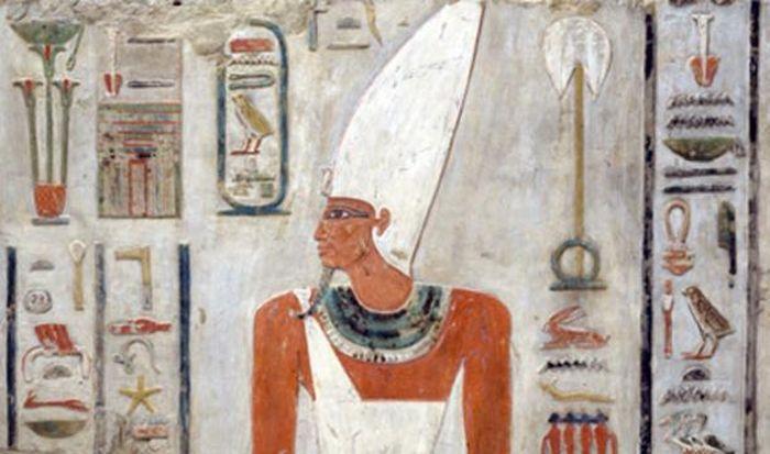 Kaple Mentuhotepa II. - postava faraona