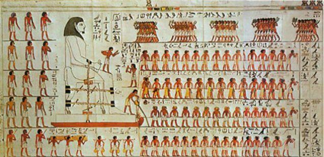 Vědci objevili jak pohybovat s obrovskými kameny pyramid