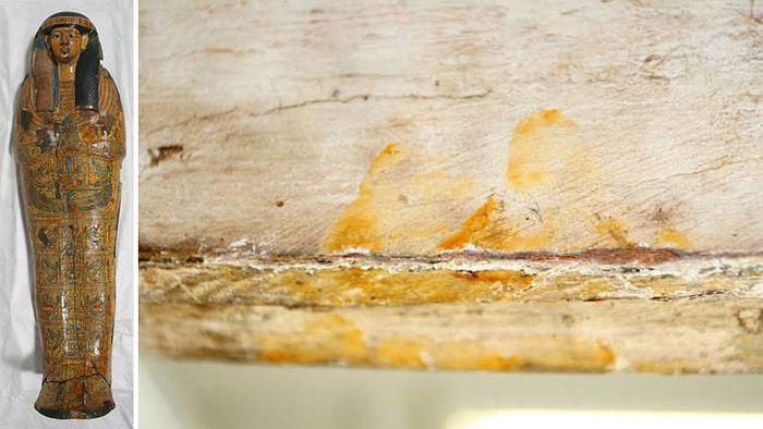 Otisk prstu starý více než 3000 let; FOTO: archiv Fitzwilliam Museum