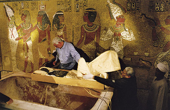 Mumie Tutanchamona