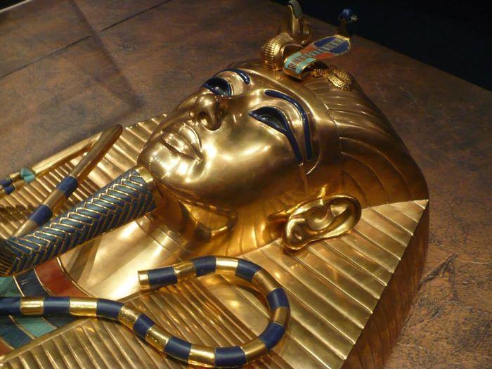 Zlatá rakev faraona Tutanchamona