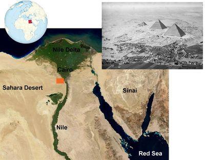Velká Sfinga v Gíze; Zdroj: TUBS