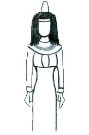 Móda starověkého Egypta - ženské šaty